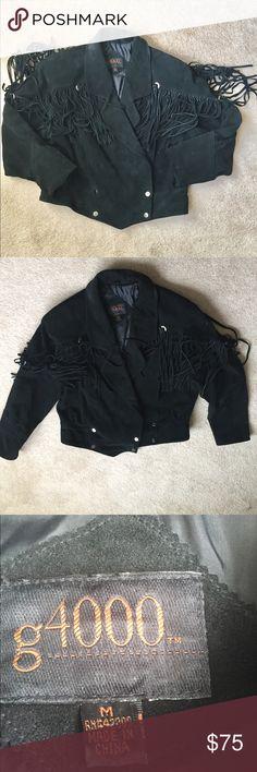 I just added this listing on Poshmark: 90's leather fringe jacket. #shopmycloset #poshmark #fashion #shopping #style #forsale #g 1000 #Jackets & Blazers