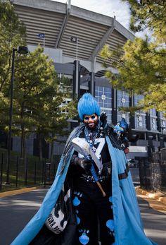 "Carolina Panthers Super Fan ""CatMan"" aka Mr. Goode one of Declan's former teachers!!"