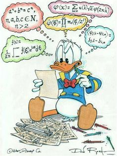 Donald Duck by Don Rosa Funny Cartoons For Kids, Funny Kids Homework, Disney Cartoons, Cartoon Kids, Cartoon Art, Walt Disney, Disney Duck, Disney Mickey, Donald Disney