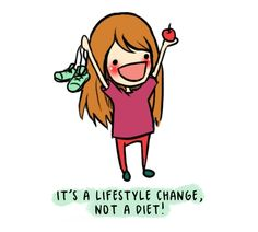 A life style change, not a diet