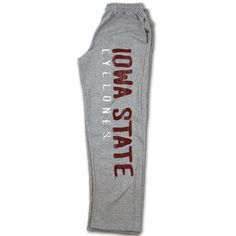 Iowa State Sweatpants- note these are men pants (so i'd need a smaller size)