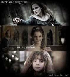 Hermione taught us..