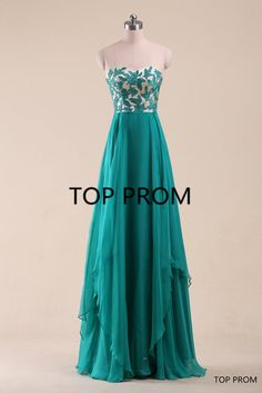 Lace Prom Dress Long Bridesmaid Dress Homecoming Dress by topprom
