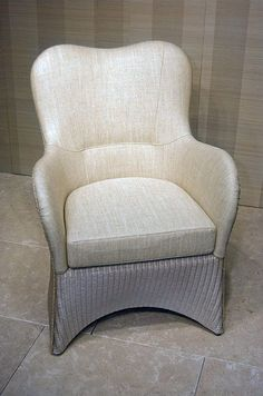 Vincent Sheppard butterfly lady chair, as featured in our latest Ivory & Ecru interior room scheme