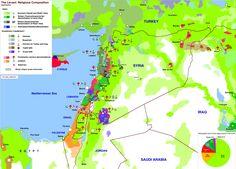 Risultati immagini per ethno-religious map of syria