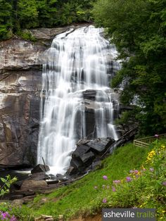 Hike to Rainbow Falls, a towering 150-foot waterfall in North Carolina's Gorges State Park