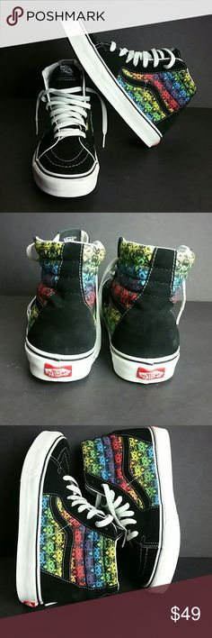 UNISEX VANS MEN SZ 9 WOMEN SZ 10.5 VERY CLEAN INSIDE-OUT   SKE # BBC Vans Shoes Sneakers
