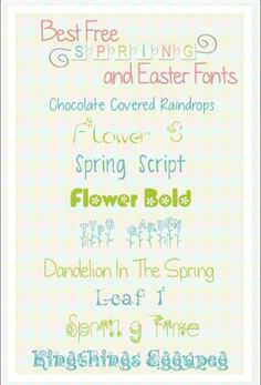 All the fonts are free for personal use.  Some require a small donation ($5) to the creator for commercial use.