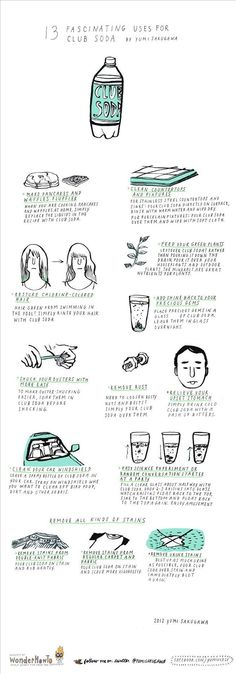 13 Fascinating Uses for Club Soda « The Secret Yumiverse
