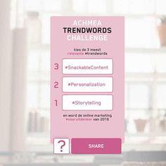 Half februari lanceerde Achmea de Trendwords Challenge 2016, een ludieke zoektocht naar vooruitdenkers. Dit zijn de winnaars!