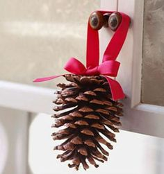 55 Awesome Outdoor And Indoor Pinecone Decorations For Christmas ...