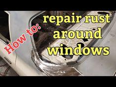 How to repair rust around windows - YouTube Old Trucks, Chevy Trucks, Auto Body Repair, Car Repair, Rat Rod Build, Auto Body Work, How To Remove Rust, Car Hacks, Diy Garage
