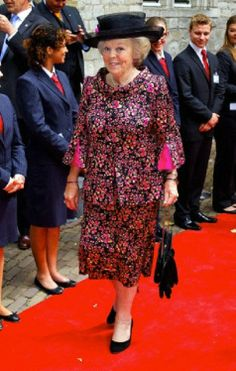 Dutch Princess Beatrix at The Four Freedom Awards in Middelburg, 24-05-2014