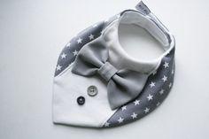 Neonato bavaglino Bavaglino Battesimo camicia di BizBizBaby