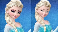 Disney Characters Without Makeup