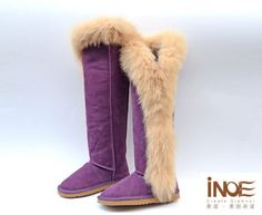 2016-Fashion-Nature-big-fox-fur-leather-women-thigh-snow-boots-long-winter-shoes