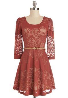 Twist is It Dress, #ModCloth