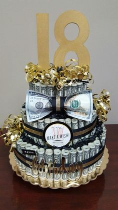 Inspired Photo of Money Birthday Cake Money Birthday Cake Fin Ish Me Cupcakes The Wealthy Money Cake. Money Birthday Cake Us Dollar Money Cake For Lloyds Birthday Jocakes. Money Birthday Cake 12 Made Out Of 100 Bill Money Cakes Photo Money Birthday Cake, Money Cake, Diy Birthday, 31st Birthday, Birthday Souvenir, Special Birthday, Happy Birthday, Homemade Gifts, Diy Gifts