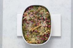 Pastagratin | Ideaal uit de stoomoven Pasta, Quiche, Cooking, Breakfast, Food, Kitchen, Morning Coffee, Eten, Quiches