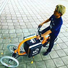 フロントのキャンバー&キャスター角を調整したら走りやすくなった乗ってみないと分からない事だらけで面白い#dagastroke #cargobike #カーゴバイク #電動アシスト自転車