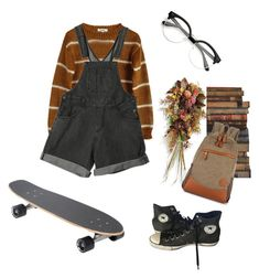 """Untitled #26"" by trash4fashion ❤ liked on Polyvore featuring Samuji, Converse, Frontgate and Andrew Martin"