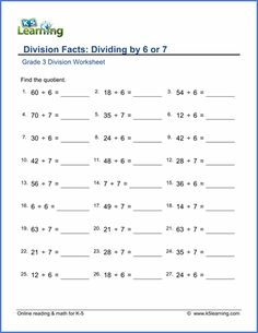 √ Multiplication by 3 Worksheets . 2 Multiplication by 3 Worksheets . Division Worksheets Grade 3, Year 3 Maths Worksheets, Math Multiplication Worksheets, Tracing Worksheets, Free Printable Worksheets, Multiplication Tables, Math Division, Long Division, Worksheets