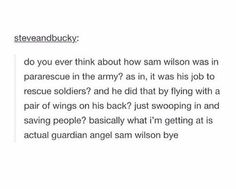 Sam Wilson is a gift to this world
