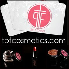 Last minute Christmas shopping? Get your makeup lover exactly what she wants! #TPFCOSMETICS.COM Cosmetics designed for film, photography, stage and every day perfection. Gift cards and a full line of cosmetics available. Order by Dec 18 for Christmas Delivery. #makeup #mua #makeupartist #cosmetics #contour #highlight #pageantmakeup #eyeliner #lipstick #lipgloss #foundation #powder #lipliner #eyeshadow #theperfectface #danielledoyle