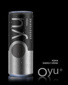 Oyu energy drink. Humm a #vodka drink #energy #packaging : ) PD