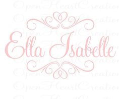 Baby Name Wall Decal                                                                                                                                                                                 More