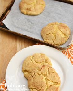 Snickerdoodle Cookies for 2! #lmldfood #cookiesfortwo
