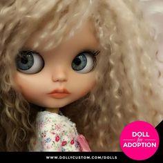 Custom Doll for Adoption by ChristineDoll CHECK HERE https://etsy.me/2qvH8w1 . . . #dollycustom #blythe #blythecustom #blythecustomizer #ooakblythe #customblythe #kawaii #doll #artdoll #dollstagram #blythestagram #blythelover #ブライス #blythedoll #customdoll #ooak #ooakdoll