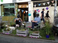 PARK(ing) Day in Dublin http://my.parkingday.org/photo