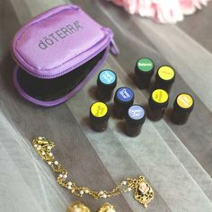 A wedding day is one of the most important days in an individual's life. Make sure to be prepared on this special day with an easily stowable doTERRA key chain that holds up to 8 of your favorite oils.