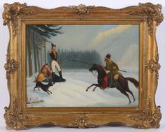 """Episode of Napoleonic retreat from Russia"" Russian Art, Winter Christmas, Seasonal Decor, Original Art, Army, Scene, Seasons, Autumn, Illustrations"