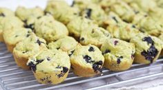 Avocado + Blueberry Yummy Toddler Mini Muffins — Baby FoodE organic baby food recipes to inspire adventurous eating sub sugar for 1/3 c maple syrup