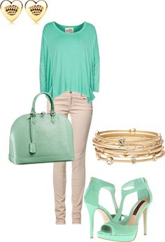 """""""Spring Outfit"""" by stefaniemarie4 on Polyvore"""