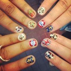 Uñas decoradas - http://www.femeninas.com/unas-decoradas/