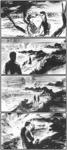 DRAWINGS FOR A MASTER: STORYBOARDS FROM THE FILMS OF ALFRED HITCHCOCK   One. Perfect. Shot.   Honoring Cinema's Past - Frame by Frame