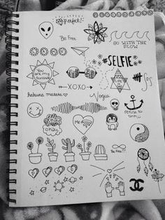 dibujos, grunge, supplies, tumblr, Diseños, school books
