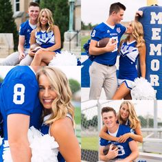 High School Cheer Senior Pictures:: Couples // Cheerleading // Football //Goals // High School Sweethearts Source by rosalindasosow Football Couple Pictures, Couple Graduation Pictures, Prom Pictures Couples, Couple Senior Pictures, Senior Pics, Senior Year, Couple Pics, Football Cheerleader Couple, Football Couples