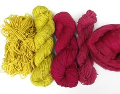 Wool and Wheel: Natural dyeing: goldenrod and pokeberries