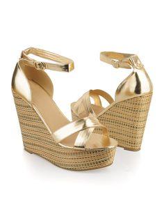 7beb433f9cb Forever 21. Metallic WedgesMetallic SandalsShoes ...