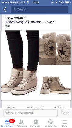 #converse #hiddenwedge #hightops