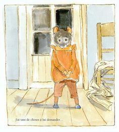 Ernest et Celestine / Gabrielle Vincent. Ernest Et Celestine, Illustration, Childrens Books, Paper Art, Fairy Tales, Draw, City, Animals, Painting
