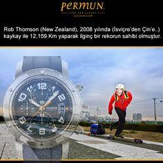 """HERMES CLIPPER - REKORLAR  Rob Thomson (New Zealand), 2008 yılında (İsviçre'den Çin'e..) kaykay ile 12,159 Km yaparak ilginç bir rekorun sahibidir.  Ürün Kodu: CP2.941.630.1C3  www.permun.com  %100 Güvenli Online Satış Mağazamız: www.markasaatler.com/hermes-c48.html  """"Orjinal Ürün / Aynı Gün Kargo""""  Tel: 0 (224) 241 31 31  #Hermes #fashion #fashionista #watchmania"""