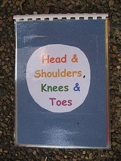 Body Parts Book. DAP for children to sing along with. Children could create their own book too.
