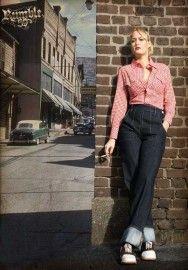 dedd2452b7ca 29 Best Swing Trousers images in 2018 | Vintage fashion, Retro ...