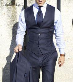 Absolute Bespoke Pinstripe Suit