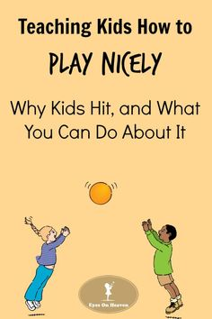 It's normal for young children to experiment with hitting, biting or scratching as ways of communicating their needs and releasing their frustration. Here are 9 simple and effective parenting strategies to help children learn appropriate responses and dev Parenting Websites, Parenting Humor, Parenting Advice, Kids And Parenting, Teaching Kids, Kids Learning, Learning Activities, Toddler Activities, Toddler Discipline